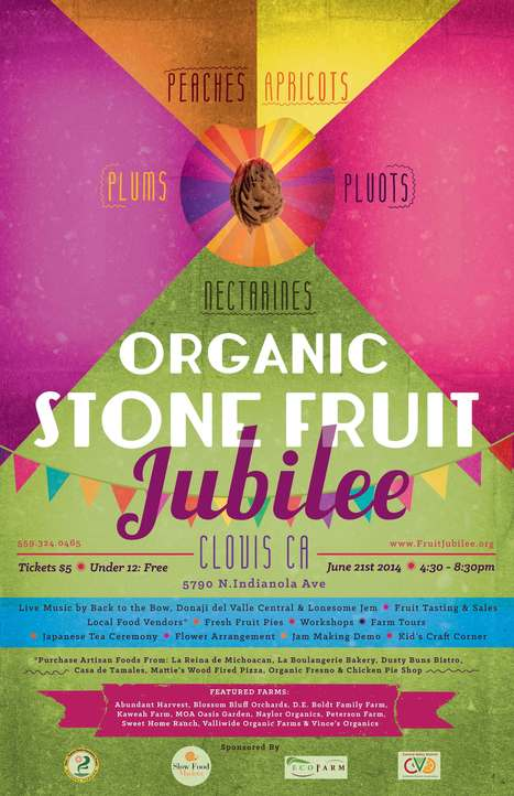 Organic Stone Fruit Jubilee | Organic, Sustainable, Local Agriculture | Ecological Farming Association - Event Saturday 6/21/14 | Agriculture and the Natural World | Scoop.it