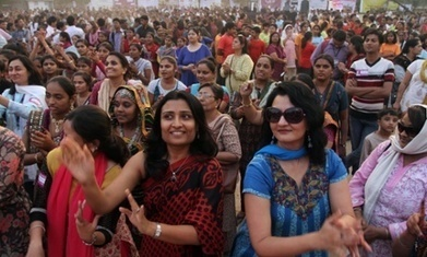 One Billion Rising: how can public dancing end violence against women? | Wizards | Scoop.it