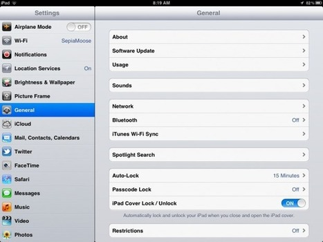 Strategically Clean Up Your iPad   Tips, Tricks, & Troubleshooting   Scoop.it