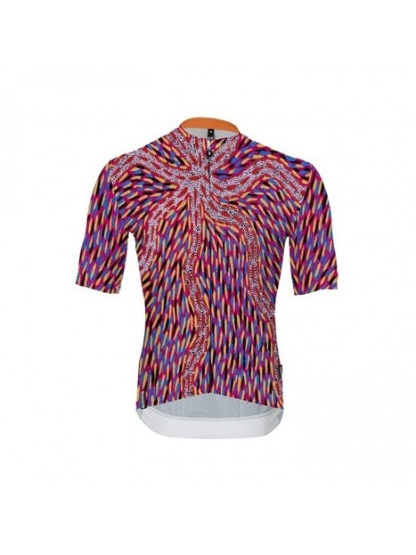 Pilbara Storm Cycling Jersey by Babici. An Aboriginal Indigenous Art  project. 24945a730