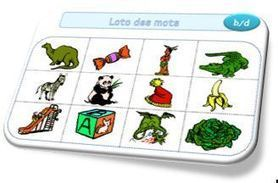 Loto des mots | Primary French Immersion Education | Scoop.it