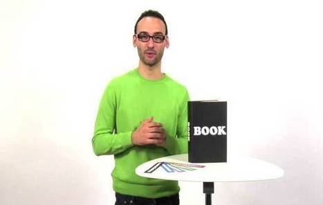 Olhar Digital: Vídeo promove livro como tecnologia revolucionária | Science, Technology and Society | Scoop.it