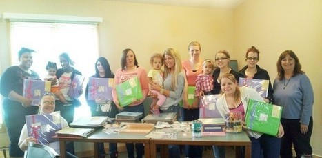 Scrapbooking 'angel' makes project possible for Northfield Young Moms Group - Southernminn.com | Life Matters - Beyond Scrapbooking techniques | Scoop.it