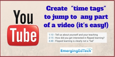 "How to Add ""Time Tags"" to Youtube Vids (so Viewers can Jump to Tagged Sections) — Emerging Education Technologies 