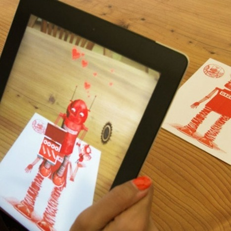 "Augmented Reality Greeting Cards Deliver Personalized Messages | La ""Réalité Augmentée"" (Augmented Reality [AR]) 
