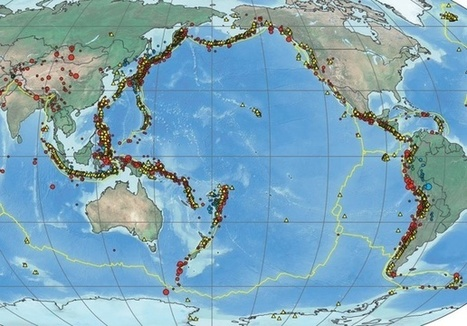 Mapping More Than a Century of Major Earthquakes | Digital Scholarship and Scholarly Communications | Scoop.it