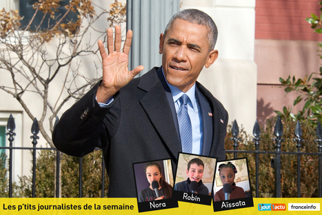 Au revoir Monsieur le Président Obama ! | Remue-méninges FLE | Scoop.it