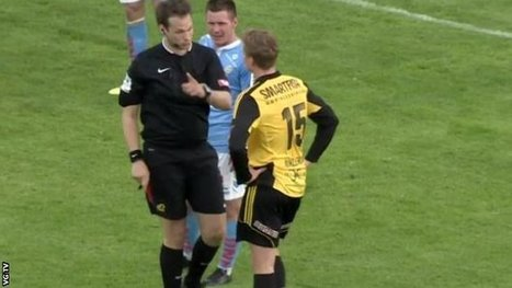 Red card for calling player 'gay' | The Global Village | Scoop.it
