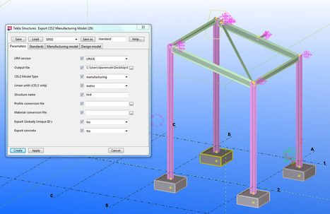 Revit Structure 2014 and Tekla Structures 19 1
