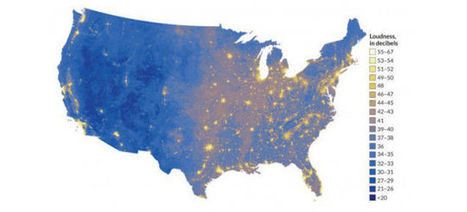 The Loudest and Quietest Places in the US, Mapped - Gizmodo | Environmental sounds | Scoop.it