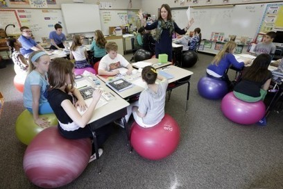 Shoeless Learning Spaces Deskless Classroom
