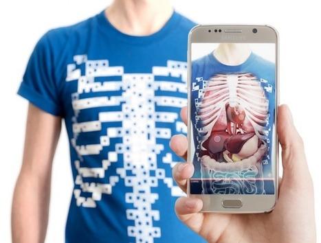 Un t-shirt qui dévoile votre anatomie grâce à la réalité augmentée | GAMIFICATION & SERIOUS GAMES IN HEALTH by PHARMAGEEK | Scoop.it