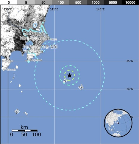 M6.2 - 143km ESE of Katsuura, Japan | Japan Tsunami | Scoop.it
