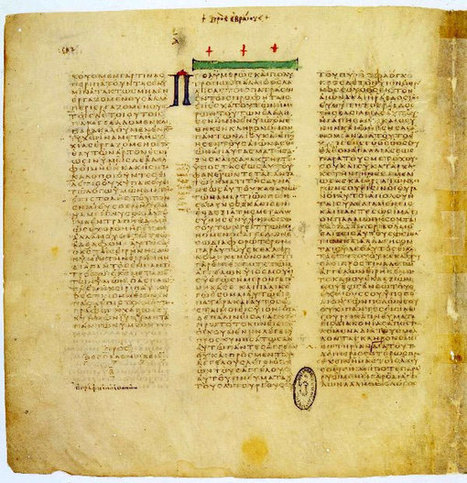 Vatican to Digitize 41 Million Pages of Ancient Manuscripts   Dave Sumner's World   Scoop.it