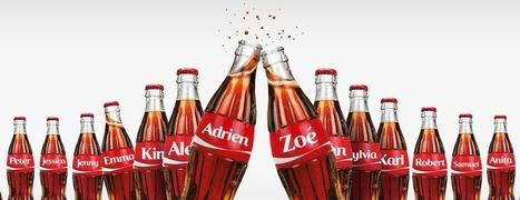 Interview : le dispositif digital de l'opération «Partagez un Coca-Cola» | Etudes de cas E-marketing | Scoop.it