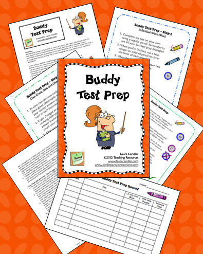 Buddy Test Prep Activity | Seasonal Freebies for Teachers | Scoop.it
