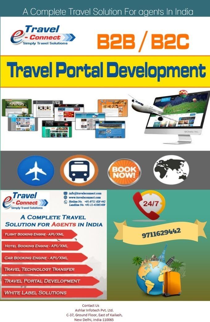 travel portal india,b2b travel portal,white lab