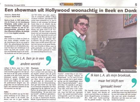 Italian Entertainment | Massimo Mea - Een showman uit Hollywood woonachtig in Beek en Donk. | Italian Entertainment And More | Scoop.it