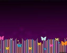 Plantilla PowerPoint de Mariposas Coloridas | Presentaciones PowerPoint | Scoop.it