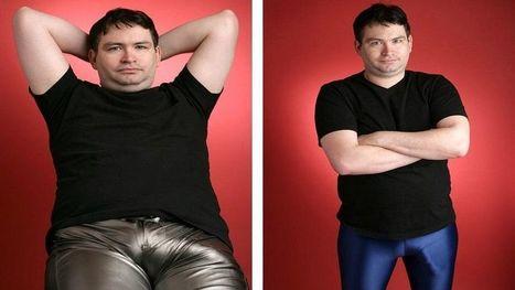 Schauspieler und Schriftsteller Jonah Falcon den größten Penis der Welt.