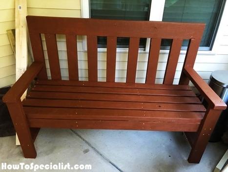 Excellent 2X4 Garden Bench Diy Project Howtospecialis Lamtechconsult Wood Chair Design Ideas Lamtechconsultcom