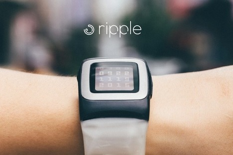 Ripple: The Most Advanced Solar Watch Strap for Pebble Time. | Things to come | Scoop.it