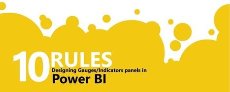 Power BI : Les 10 règles d'or pour faire briller vos tableaux de bord   BM Formation   Scoop.it