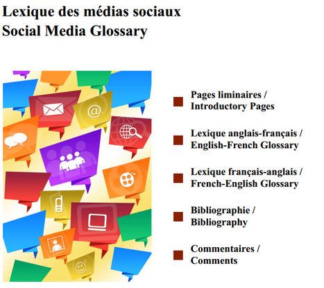 Lexique réseaux sociaux : 300 mots et expressions en français (et équivalents en anglais) | Communication IT | Scoop.it