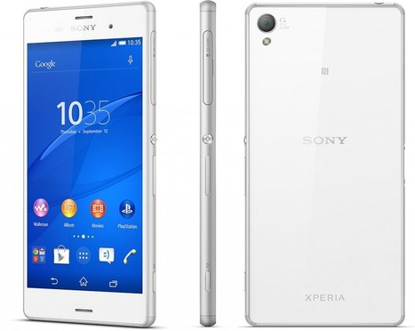 Sony Xperia Z3: Waterproof 5.2-inch Full HD with the...   TechConnectPH News   Scoop.it