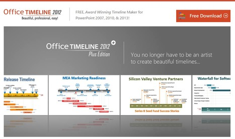 Create Professional Timelines in PowerPoint with Just a Few Clicks!  Free Add-in. | Elearning france | Scoop.it