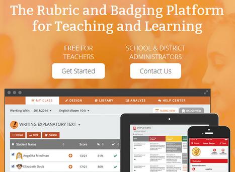 ForAllRubrics - The Rubric & Badging Platform | Creative Tools... and ESL | Scoop.it