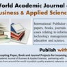 World Academic Journal of Business & Applied Sciences (WAJBAS)