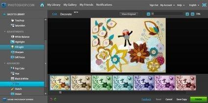 Utilidades 2.0: Editores de imágenes online | Nuevas tecnologías aplicadas a la educación | Educa con TIC | arte interativa | Scoop.it