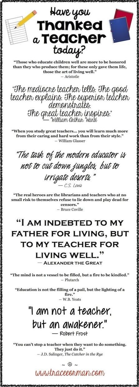 Mrs. Orman's Classroom: Teachers: You Are Appreciated! | Common Core Resources for ELA Teachers | Scoop.it