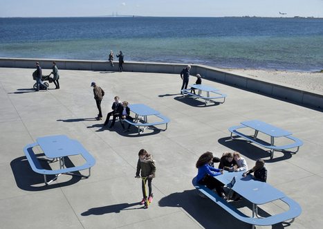 out-sider street furniture: plateau picnic table   What's new in Design + Architecture?   Scoop.it