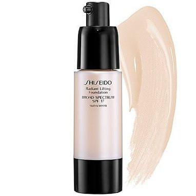 Reviews this Shiseido Radiant Lifting Foundation Broad Spectrum SPF 17 O00 1.2 oz