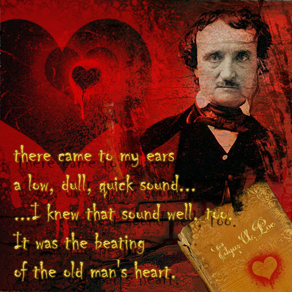 comprehensive analysis of the tell tale heart by edgar allan poe Review poe's classic horror story, the tell-tale heart, with these sample discussion questions, complete with answers perfect story material to ace a test or one-up everyone in a discussion.
