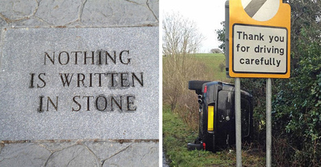 20 Hilarious Examples of Irony | News we like | Scoop.it