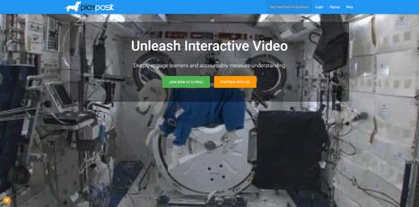 Playposit: rendez vos vidéos interactives simplement | Les outils du numérique au service de la pédagogie | Scoop.it