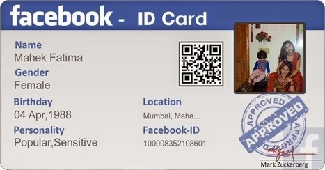 Id Identity How Card Facebook To Create