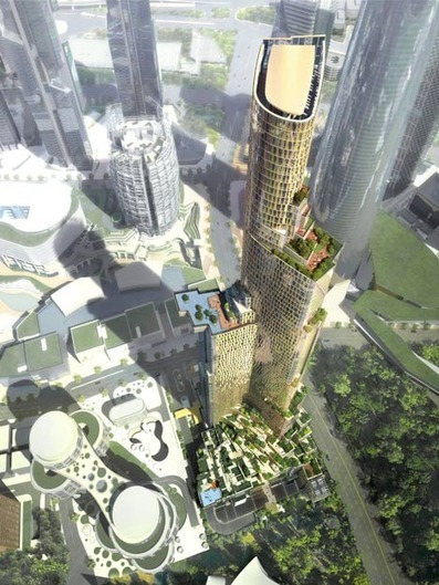 Another skyscraper proposal for Seoul : Block H by Kohn Pedersen Fox - Dezeen   The Architecture of the City   Scoop.it