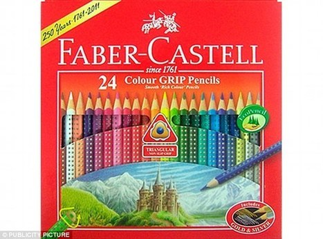 Trend for adult colouring leads to pencil crisis | Kickin' Kickers | Scoop.it