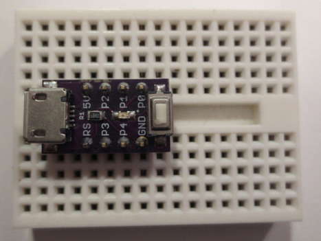 The tiniest ATtiny85 based 'duino derivative ever   AVR & Arduino   Scoop.it