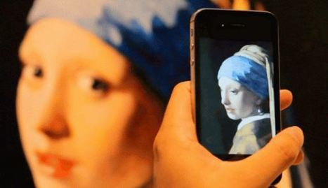ARART augmented reality app brings paintings to life | Grafica e Multimedia | Scoop.it