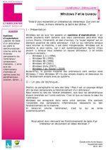 tutoriel Windows 7 et le bureau | Souris verte | Scoop.it