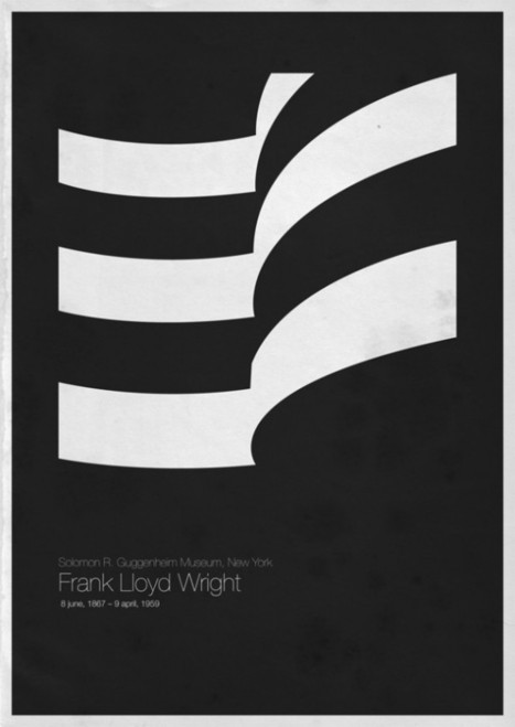 Flavorwire » Wanted: Minimalist Posters of Modern Architecture | The Nomad | Scoop.it
