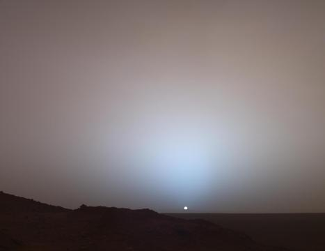 Martian Sunset (Spirit rover) | Astronomy Domain | Scoop.it