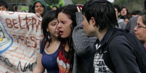 Étudiants chiliens cherchent soutien   Humanite   L'enseignement dans tous ses états.   Scoop.it