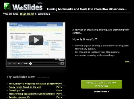 WebSlides - Turning bookmarks and feeds into interactive slideshows… | Animal Webcams | Scoop.it