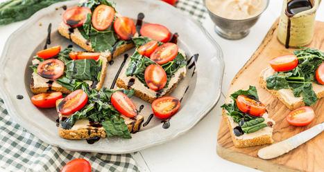 Kale Bruschetta Recipe | Vegan Food | Scoop.it